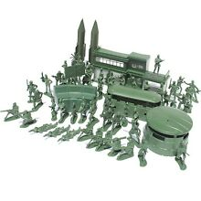 Toyvian 56pcs military soldier