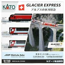 Glacier express basic 3 car set