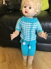Rosebud walking doll blonde big