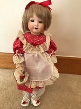German painted bisque doll 14