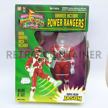 Karate action power rangers jason