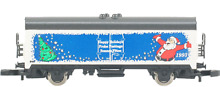 Marklin 2121 box car happy holidays