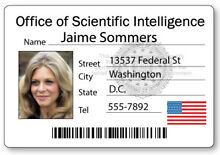 Jaime sommers do name badge