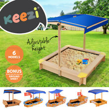 Keezi kids sandpit outdoor toys