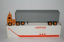 1979 yellow lines freight semi