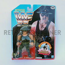 Wwf action figure sgt slaughter