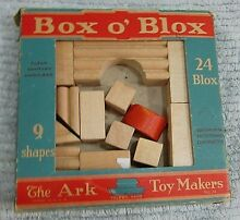 Box o blox the ark toy makers