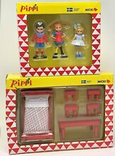 New pippi tommy annika toy figures