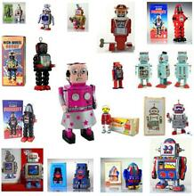 Windup robot tin toy collectable