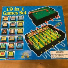 19 in 1 game set for kids snooker