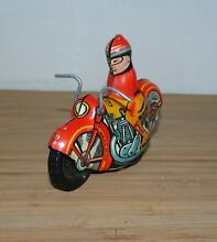 Tin plate toy original model great