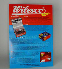 Wilesco 2 page catalogue 2012