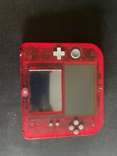Nintendo 2ds red edition