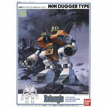 Bandai dugger type wm 1 144 japan