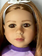23 doll stunning two tone hair red