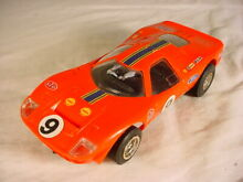 Ford mirage c15 red 1960s slot car