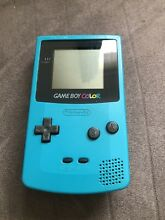 Color teal edition gameboy 1998
