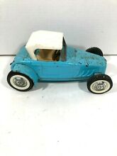 Rare blue ford roadster car hot rod
