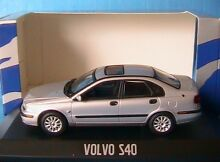 Volvo s40 2001 silver metal 1 43