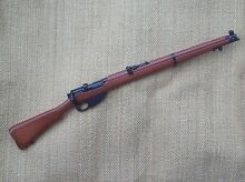 Smle rifle for great war bears ww1