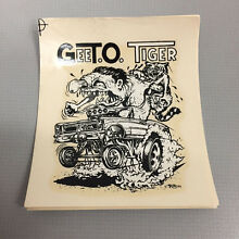 Collectible ed roth gto gee t o
