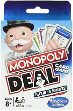 Monopoly deal card game no board