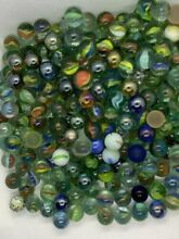 150 lot glass cats eye clears 1