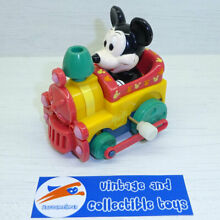 Wind up mickey mouse train