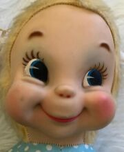 Rare hard to find rubber face doll