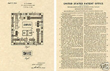Sorry game us patent art print