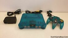 Ice blue console n64