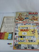 Mad magazine board game 1979 parker
