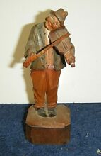 Italian wooden hand carved man
