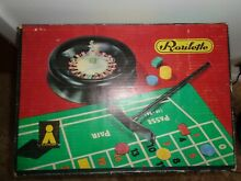 Roulette game boxed
