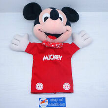 Mickey mouse disney hand puppet