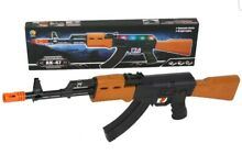 Ak47 assault rifle led lights shake