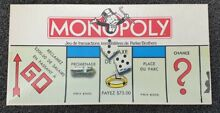 1984 monopoly french edition box