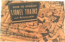 1950s o scale booklet how to