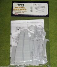 Turntable 1 76 scale scenery kit 00