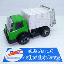 Tonka garbage truck green metal toy