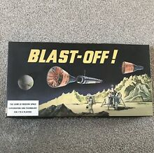 Blast off board game by waddingtons