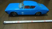Crown blue car tin toy vehicle