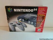 Console boxed n64