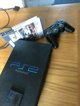 Black original playstation console