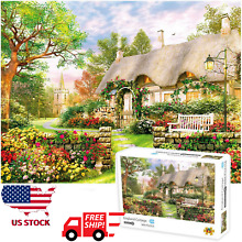 1000 piece england cottage puzzles