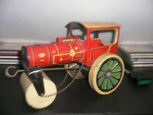 1951 old 261 tinplate road roller