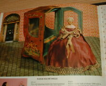 1800s doll carriage house set