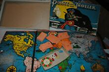 Pirate and traveler board game