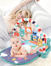 Baby gym play mat lay play 3 in1