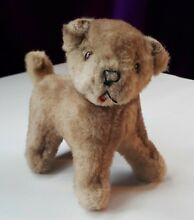 S standing soft toy puppy dog plush